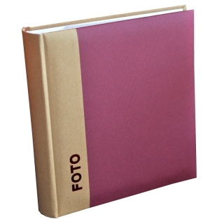 FOTOALBUM UNIFORM BORDO  BB200  10x15