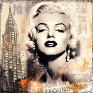 CANVAS MARILYN  50x50